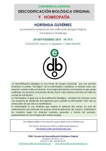 charla hortensia ecocentro