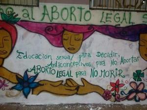 pancarta aborto