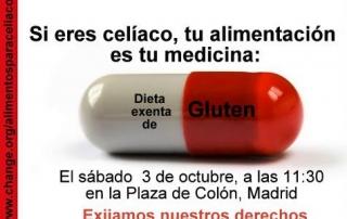 tu alimentacion es tu medicina celiacos 3 octubre