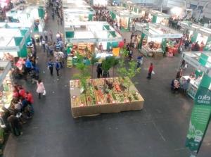 panoramica Feria Biocultura Bilbao 2015