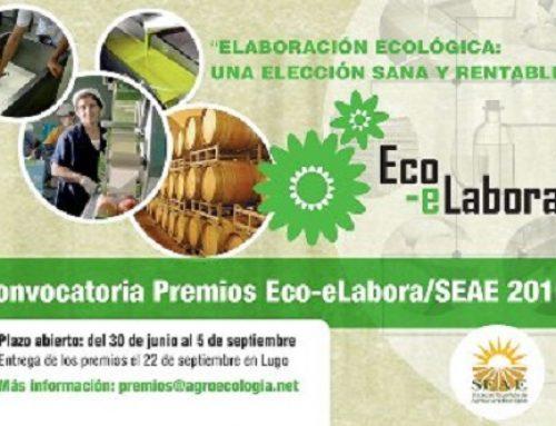 3ª edición Premios EcoeLabora-SEAE 2016