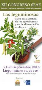 XII Congreso de SEAE dedicado a las leguminosas (Lugo. 21-23 septiembre 2016)