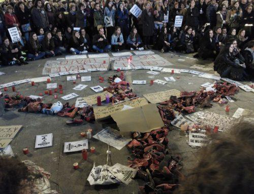 16 días de Huelga de Hambre por una Ley de protección contra la violencia machista