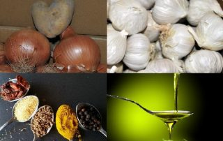 Ingredientes basicos cocina responsable