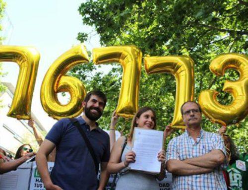 Más de 76.000 firmas avalan la ILP de vivienda en Madrid