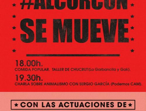 Jornadas Alcorcón se Mueve: taller de chucrut, charla sobre animalismo y música