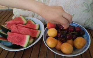 toma fruta