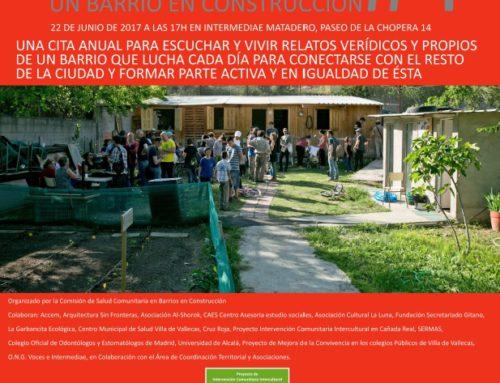 IV Jornadas CAÑADA REAL GALIANA: Un barrio en construcción