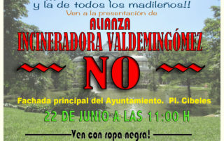 cartel VALDEMINGOMEZ NO-1