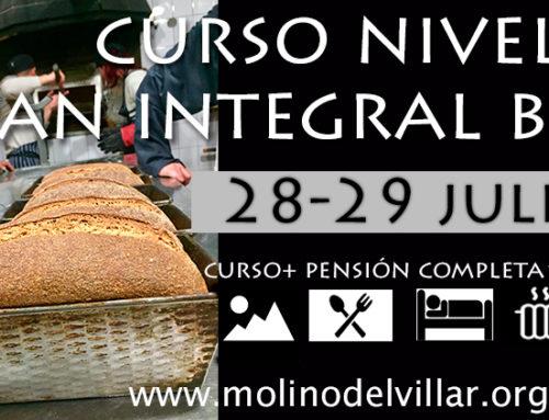 Curso Nivel 2, 28-29 julio, Pan Integral Biológico Levadura Madre