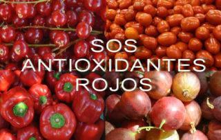 Antioxidantes rojos