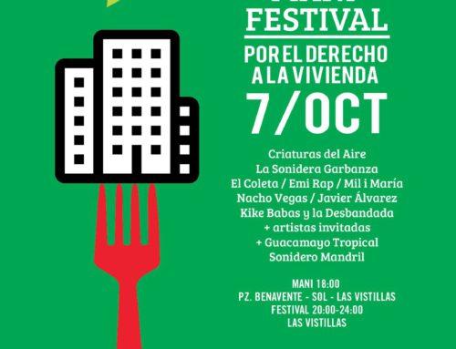 Mani Festival por el Derecho a la Vivienda 7/10/17
