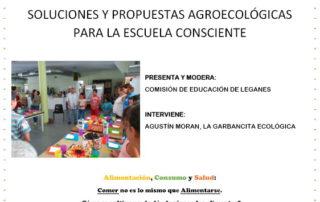 Alimentacion y escuela cartel leganes oct 2017
