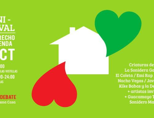 Apoya La ILP urgente del derecho a la vivienda en la Comunidad de Madrid: 7 octubre manifestación y festival