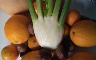 Hinojo y naranja