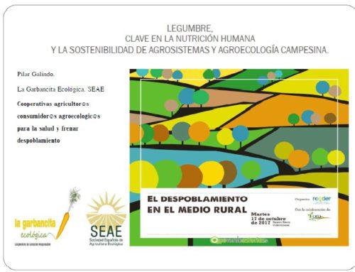 Legumbre, clave en la nutrición humana y la sostenibilidad de agrosistemas y agroecología campesina