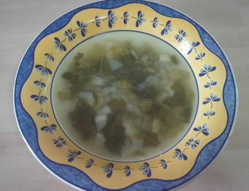Sopa de apio y nabo