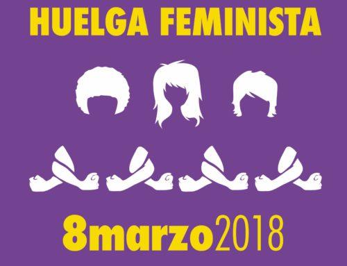 8 de marzo de 2018, Día Internacional de la Mujer y Huelga Ecofeminista
