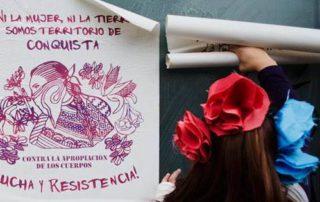 Ni mujer ni tierra territorio conquista