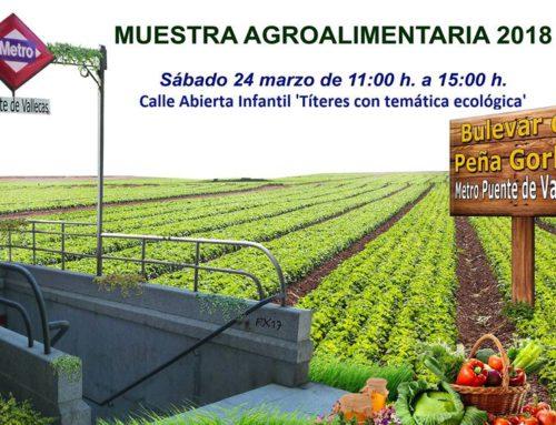 Tercera Muestra Agroalimentaria 2018 Puente de Vallecas