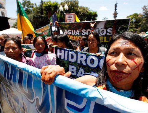 Mujeres amazónicas exigen frenar el extractivismo