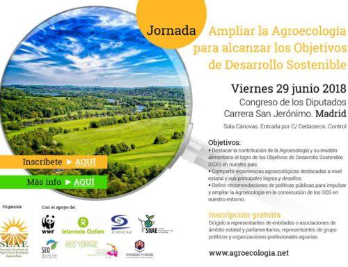 Jornada: Ampliar la Agroecología para alcanzar los ODS