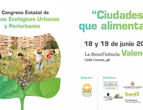 """III Congreso de Huertos Urbanos y Periurbanos """"Ciudades que Alimentan"""""""