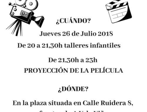 Cine y talleres infantiles en Vallecas