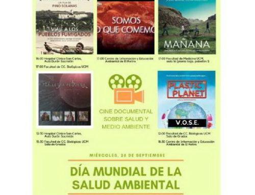 Día mundial de la Salud Ambiental: Madrid 26/09/2018